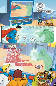 Preview: Scooby-Doo Team-Up #6, Page 2 of 6 - Comic Book Resources