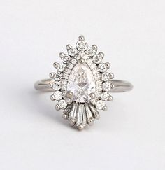 How Are Vintage Diamond Engagement Rings Not The Same As Modern Rings? If you're deciding from a vintage or modern diamond engagement ring, there's a great deal to consider. Wedding Rings Vintage, Vintage Engagement Rings, Diamond Engagement Rings, Wedding Jewelry, Oval Engagement, Buy Diamond Ring, Diamond Jewelry, Solitaire Diamond, Pear Diamond