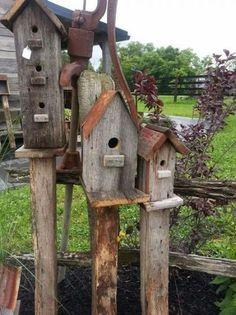 Birdhouses | Primitives | Pinterest