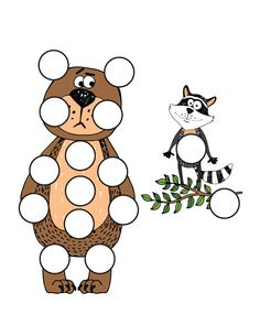 Forest AnimalsDo-a-Dot Printables  18 activity pages  Perfect for kids ages 2+  Instant digital downloads product in PDF format  Supports the development of one-to-one correspondence, shapes, colors, patterning, letters, and numbers