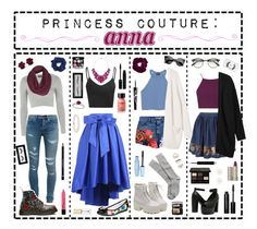 """""""- ̗̀ Princess Couture: Anna  ̖́-"""" by i-get-a-little-bit-breathless ❤ liked on Polyvore featuring Eye Candy, Glamorous, Effy Jewelry, Perricone MD, Sephora Collection, Anne Klein, Yves Saint Laurent, Dr. Martens, Topshop and Object Collectors Item"""