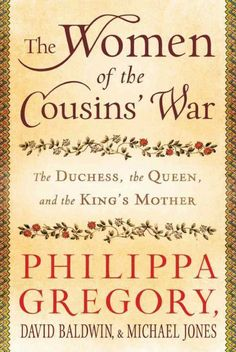 Philippa Gregory and her fellow historians describe the extraordinary lives of the heroines of her Cousins' War books: Jacquetta, Duchess of Bedford; Elizabeth Woodville, wife of Edward IV; and Margaret Beaufort, mother of Henry VII.