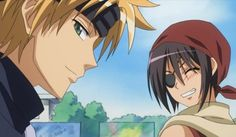 Imagem de anime, misaki, and usui