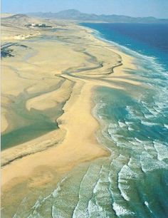 Sotavento Beach. Fuerteventura. Canary Islands.