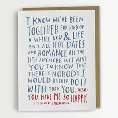 Hilariously Awkward Cards by Emily McDowell - My Modern Met