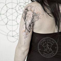 #elephanttattoo #epureatelier #marieroura #finelinetattoo #ink #inked #tattoo #tattoosketch #tattooartist