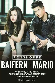 WELCOME BACK in the Philippines, Baifern and Mario Maurer!!! #PenshoppePH #PenshoppeAllDay #ExcitedMuch