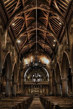 Pugins St Giles Church ArchitectureBeautiful ArchitectureChurch BuildingCathedral ChurchMosquesCathedralsInterior