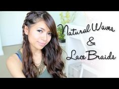 Natural Looking Waves & Braids Side Swept Hairstyle - YouTubeBraid Hairstyles, Braids, braids tutorial, braids for short hair, braids for short hair tutorial, braids for long hair, braids for long hair tutorials... Check more at http://app.cerkos.com/pin/natural-looking-waves-braids-side-swept-hairstyle-youtube/