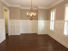 MJR Homes Custom Dining Room