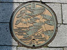 Ashiya Hyogo manhole cover (兵庫県芦屋市のマンホール) | by MRSY
