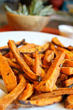 Baked Sweet Potato Fries #ZiplocBackToSchool AD