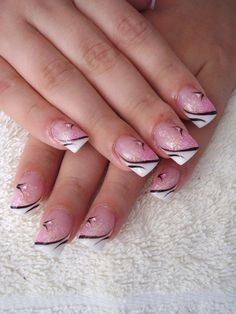 summer manicure and pedicure ideas | Latest French Manicure Designs