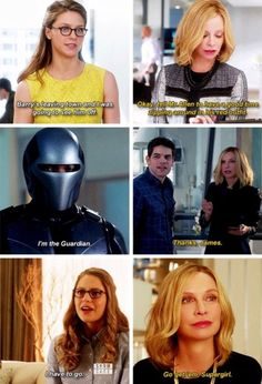 Don't underestimate Cat Grant she knows all #CatGirl