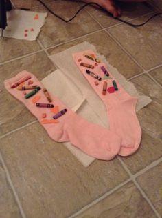 Socks for crazy socks day