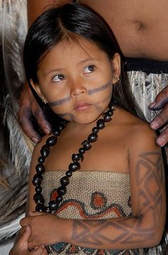 Terena child at Brazil's Indigenous Games; by Agência Brasil.