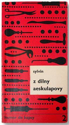 Book cover design by Miroslav Habr, Czechoslovakia 1970