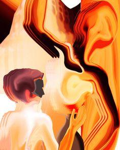 """Feeling In Art Saatchi Online Artist Boi K' Boi; Digital, """"Feeling In Art"""" #art"""