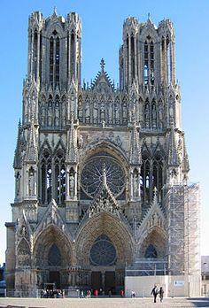 Kathedraal van Reims - Frankrijk