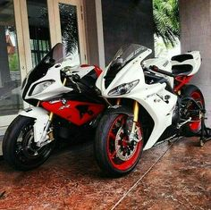 #bmw #rr #motorcycle #bike #red #white