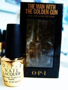 Feel like 007 with 18k polish!