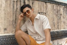 The other half of the JaDine loveteam is joining Sunnies Studios for their campaigns throughout the year. Just in time for summer, James Reid is officially joining the local brand's growing family. James Reid Wallpaper, Sunnies Studios, Movie Talk, Nadine Lustre, Jadine, Tough Day, Asian Actors, My Forever, Hot Guys