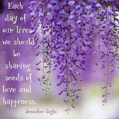 Each day of our lives..