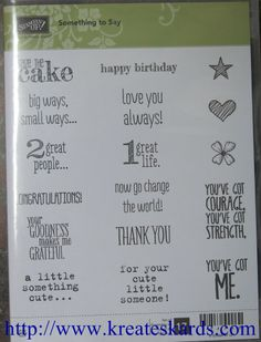 SNEAK PEEK: Stampin' Up! New Stamp Sets Available June 2nd 2014