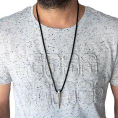 Men's Necklace Men's Stainless Steel Necklace | Etsy Mens Leather Necklace, Mens Chain Necklace, Long Pendant Necklace, Necklace Sizes, Chain Necklaces, Presents For Men, Swarovski Crystal Necklace, Stainless Steel Necklace, Chains For Men