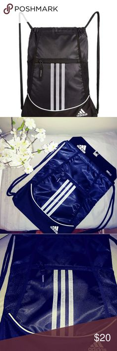 Shop Women s adidas Black White size OS Backpacks at a discounted price at  Poshmark. Description  Black and white adidas tie string backpack. f836738ba7