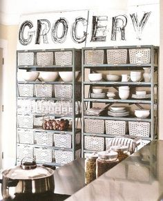 This pic shows the rack in a grey tone rather than turquoise. Lyon in Aurora, IL still makes something just like this. I think.... this may need to make it into my kitchen....