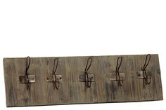 Urban Trends Collection Wooden Wall Coat Rack UTC33028
