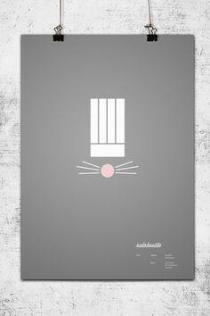 Minimalist Pixar Posters - Ratatouille