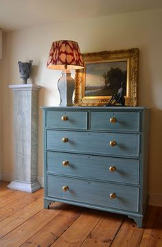 Victorian Hand Painted Chest of Drawers Cabinet Sideboard Table Shabby Chic | eBay