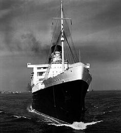 Queen Mary- my grandma came to America on this ship