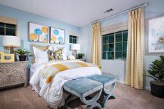 Bedroom at Aura Plan 3 | New Homes at Master Planned Canyon Hills
