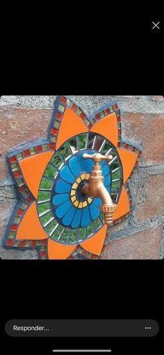 Mosaic Garden Art, Mosaic Tile Art, Mosaic Artwork, Mosaic Glass, Glass Art, Mosaic Art Projects, Mosaic Crafts, Mosaic Designs, Mosaic Patterns