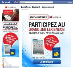 #atnetplanet #LexisNexis #JAimeLeDroit #application #Facebook