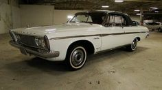 Plymouth : Other 1963 plymouth sport fury convertible