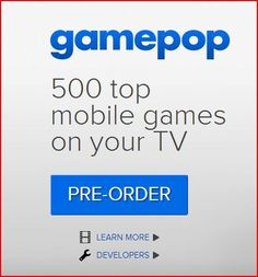 Play mobile games on your television from gamepop www. Mobile Game, Games To Play, Pop, Learning, Tv Watch, Videos, Image, Playmobil, Popular