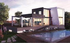 Maison Cascade - Plan de maison Moderne réalisé par les architectes partenaires d'Archionline #house #modernhouse #Archionline