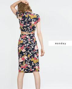#zaradaily #monday #woman #shirt #skirt