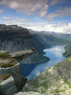Trolltunga... of course it's in Norway