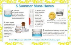 Great products from Rodan and Fields for summer. Www.LisasSkinCare.myrandf.com