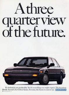 Honda Accord ad.