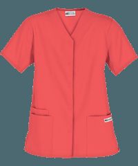 UA Best Buy Scrubs Women's Snap Front Scrub Top