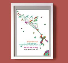 LITTLE PRINCE Le petit prince poster decoration quote by COLOR4FUN, $15.00