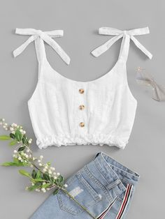 Cute Comfy Outfits, Girly Outfits, Diy Clothes, Clothes For Women, Teen Fashion Outfits, Aesthetic Clothes, Blouse Designs, Beautiful Outfits, Marie