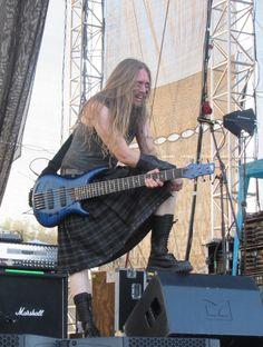 Sami Hinkka (Ensiferum) at More Than Fest in Slovakia, 19.08.2016