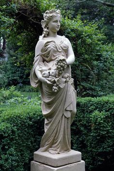Autumn Is The Mellower Season, And What We Lose In Flowers We More Than  Gain. Garden StatuesGarden SculpturesGreek ...